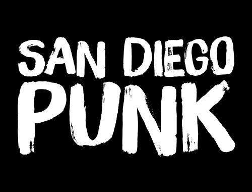 San Diego Punk Logo Feat