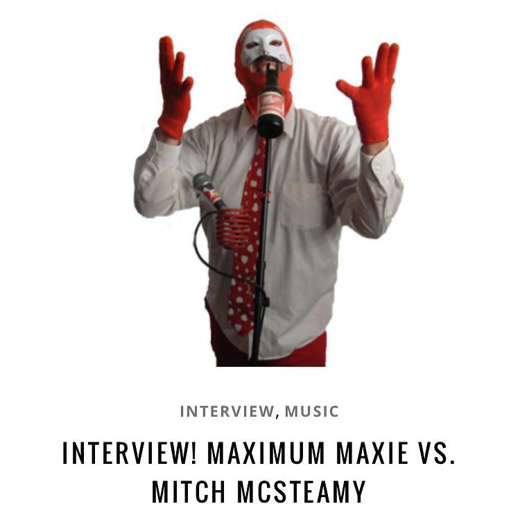 New interview! Mitch McSteamy goes headtohead with Maximum Maxie fromhellip