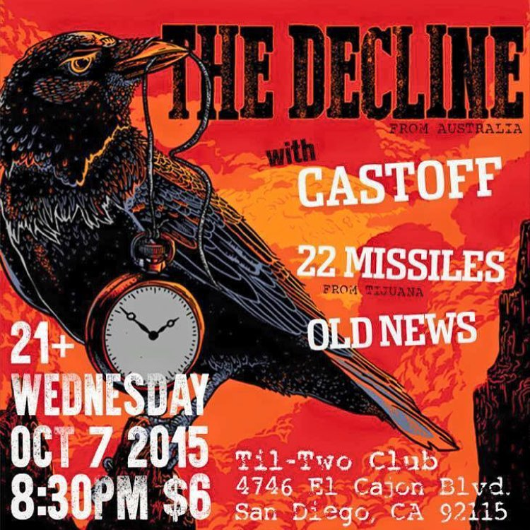 Tonight! The Decline Castoff 22 Missiles and Old News athellip