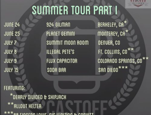 Castoff Summer Tour Part One