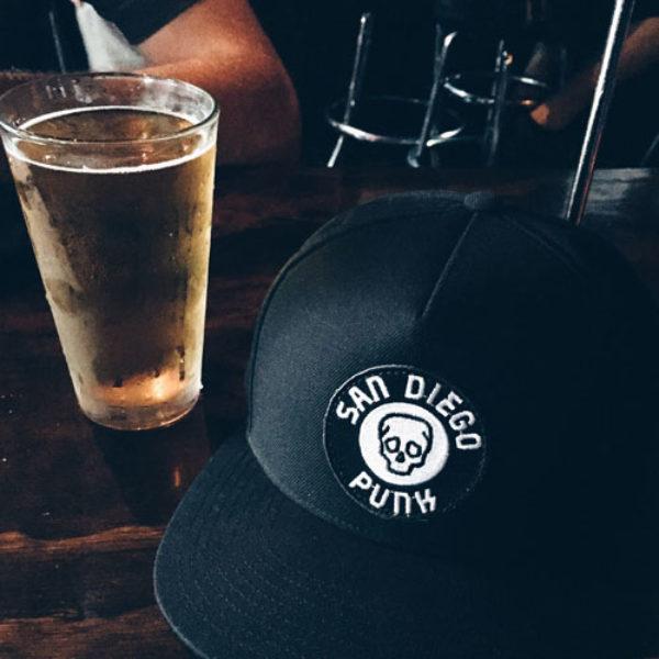 San Diego Punk Hat AD