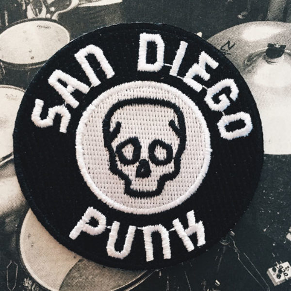 San Diego Punk Patch AD