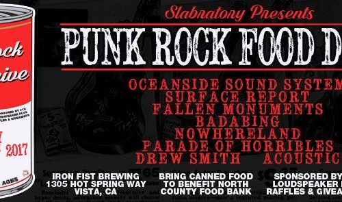 The 9th Annual Thanksgiving Punk Rock Food Drive